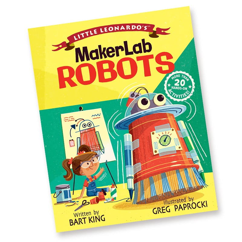 Bart King MakerLab Robots