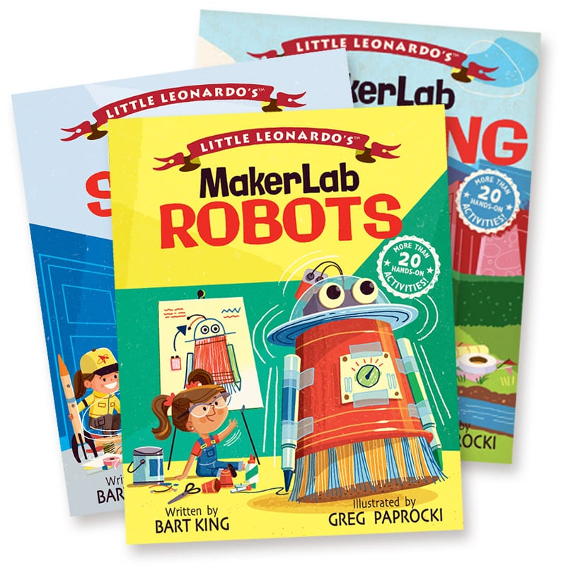 Little Leonardo's MakerLab Series